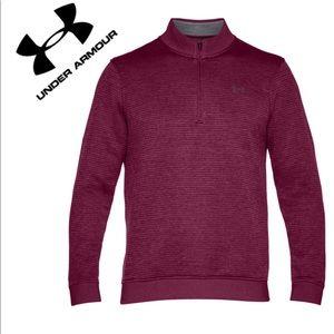 UA NWOT Storm Fleece 1/4 Zip Pullover size XL